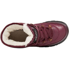 The North Face Thermoball Lace II Chaussures Femme, shiny fig/vintage white